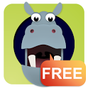 Hide & Seek Hoppo Hippo Free icon