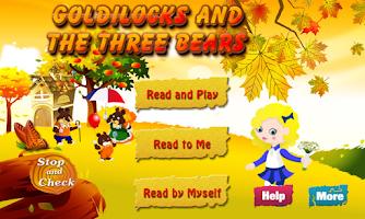 Screenshot of Goldilocks and the Three Bears