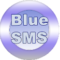 Blue SMS free texts logo