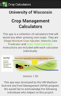 Crop Calculators- screenshot thumbnail