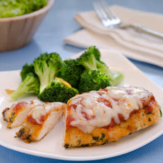 Succulent Chicken Parmesan.