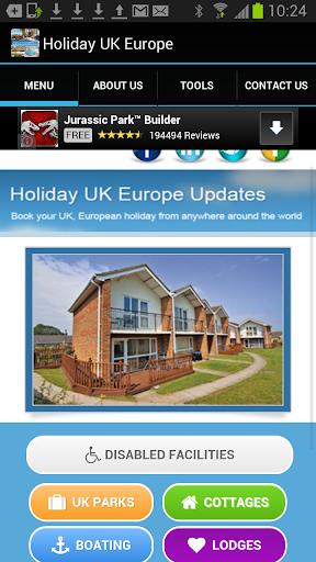 Holiday UK Europe