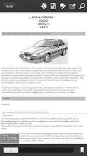 Volvo 850-940 Owner Manuals