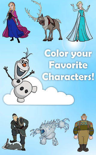 Coloring Pages Olaf Frozen