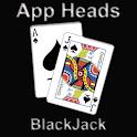 Black jack 21 logo