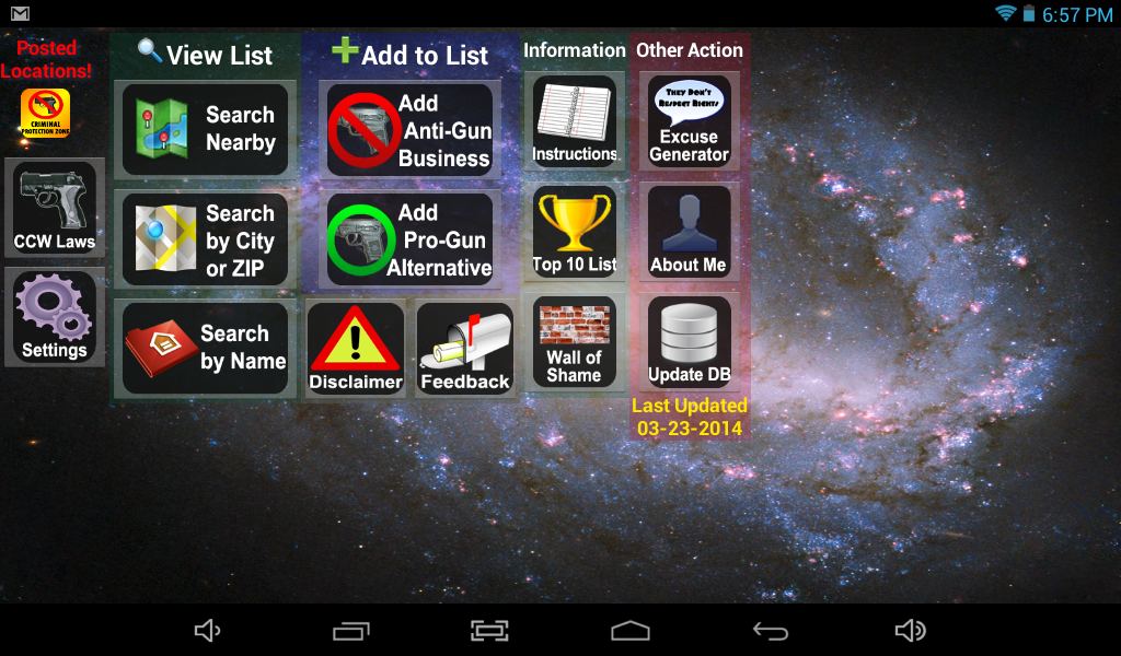 Posted! - List Pro & Anti Gun Carry Locations- screenshot