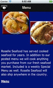 Roselle Seafood - screenshot thumbnail