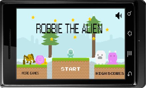 Robbie the Alien