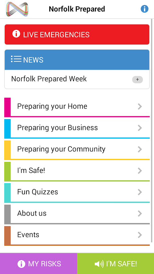 Norfolk Prepared- screenshot