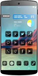 HOLE Icon Pack Launcher v1.0