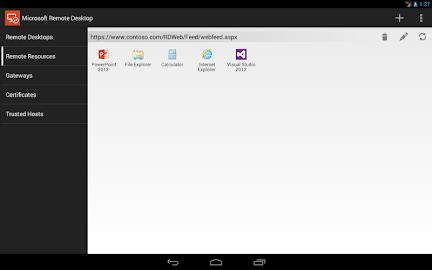 Microsoft Remote Desktop Screenshot 5