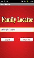 Screenshot of AutoSoft Family Locator