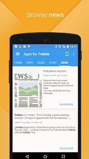 Apps for Pebble- screenshot thumbnail