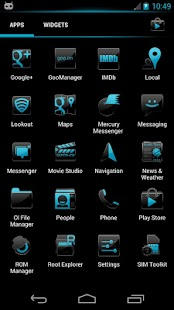 Crystal 2 CM10 Theme - screenshot thumbnail