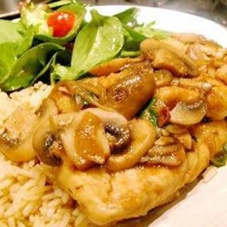 Easy Chicken Marsala.