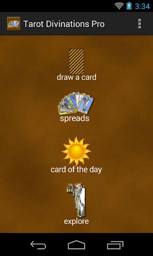 Tarot Divinations Pro