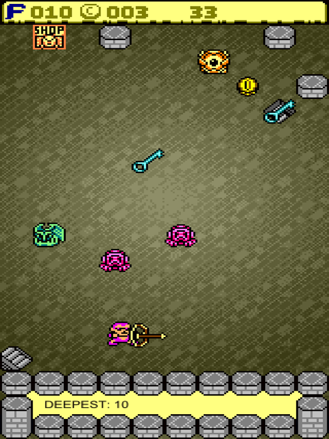Touch Dungeon - screenshot