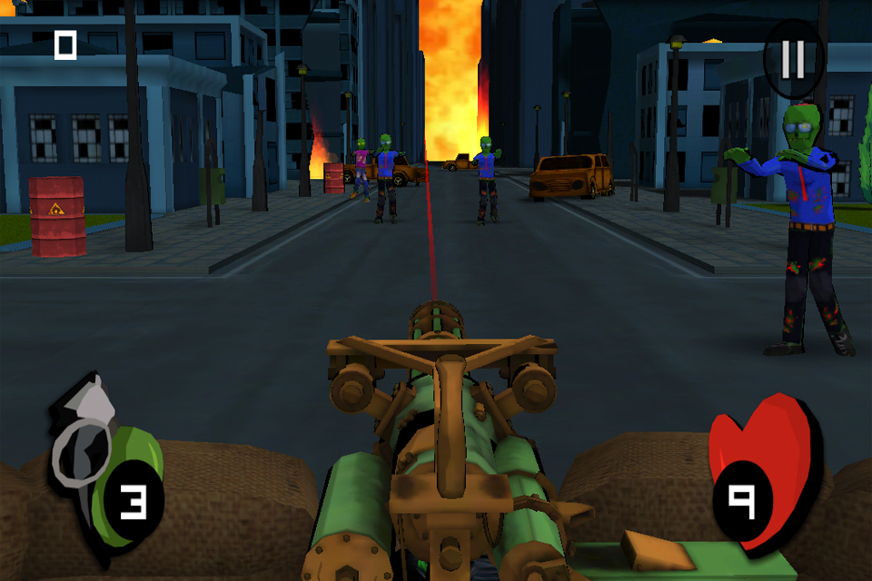 Minigun vs Zombies- screenshot