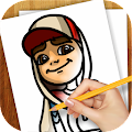 Download Android Game Learn to Draw Subway Surfers for Samsung