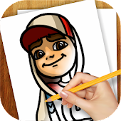 Download Learn to Draw Subway Surfers APK on PC