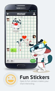 برنامه جایگزین ویچت DiDi – Free Calls & Texts v1.2.8