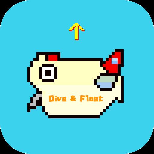Dive&Float 動作 LOGO-阿達玩APP