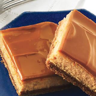 Dulce de Leche Cheesecake Bars.
