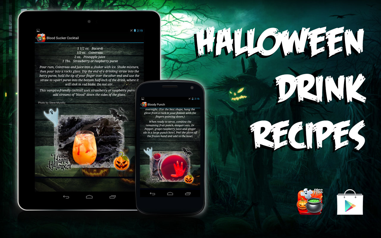 Halloween Drink Recipes - Android Apps on Google Play