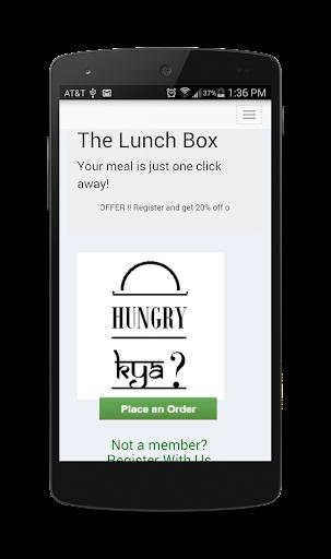 The Lunch Box Appar (APK) gratis nedladdning för Android/PC/Windows screenshot