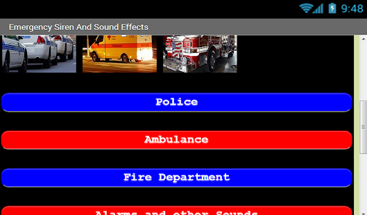 Emergency Sirens Sound Effects- screenshot thumbnail