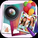 photo frames birthday cards icon