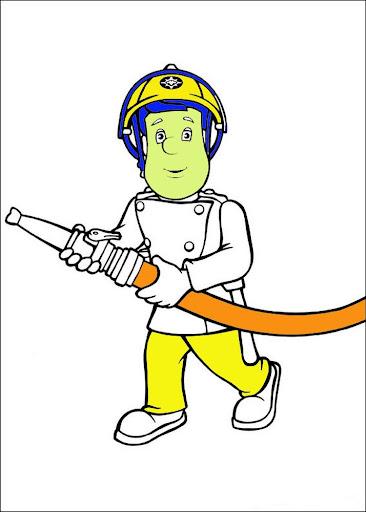 Kids Paint Fireman