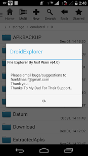 Droid Explorer - screenshot thumbnail