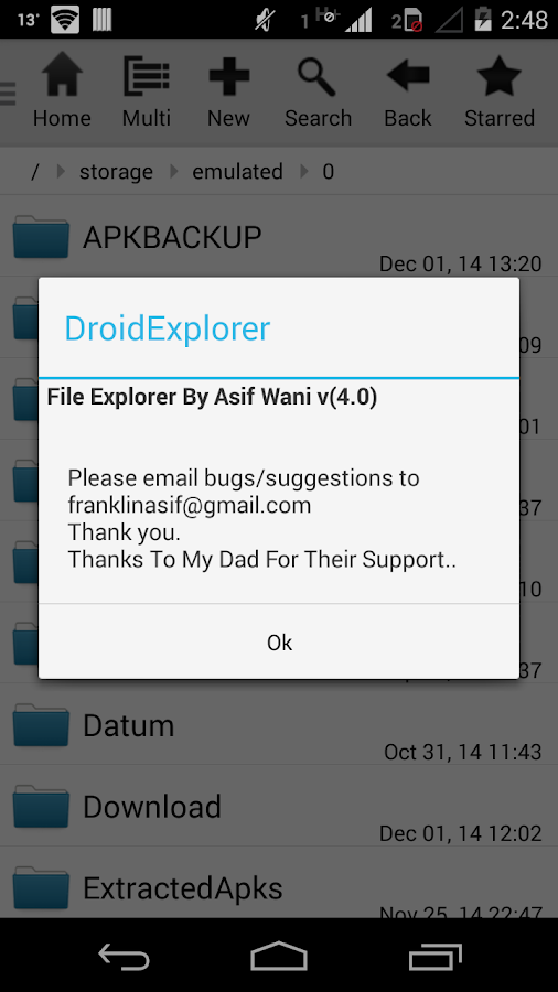 Droid Explorer - screenshot