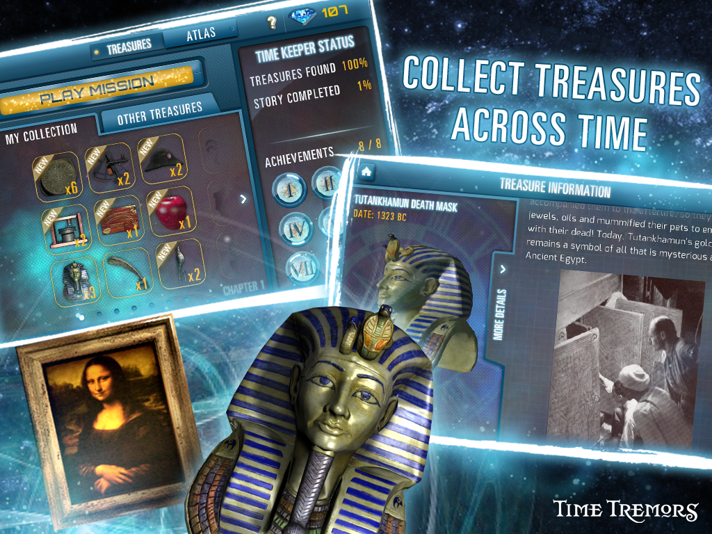 Time Tremors : Infinity- screenshot