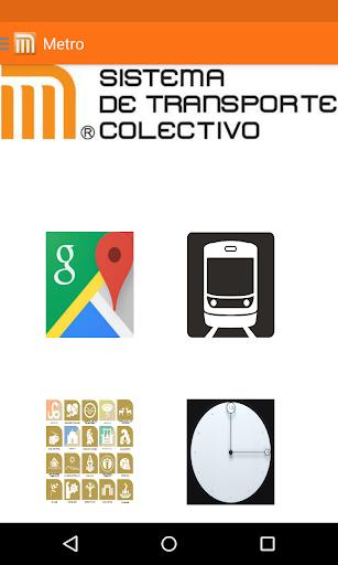 Metro Mexico y transportes DF