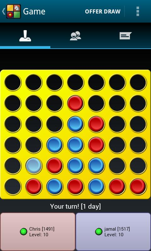 Connect4 Pop Online - screenshot