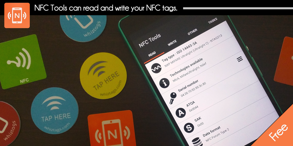 NFC Tools - screenshot