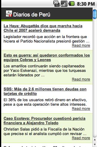 Diarios de Peru