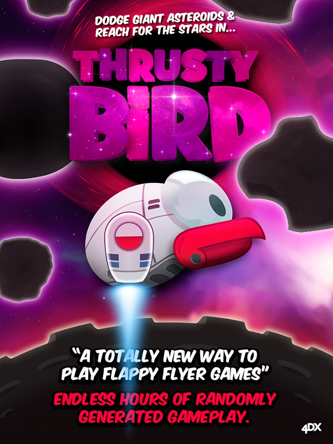 Thrusty-Bird-Endless-Asteroids 4