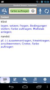 Standard Tschechisch- screenshot thumbnail