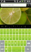 Screenshot of Lime Pro - HD Keyboard Theme