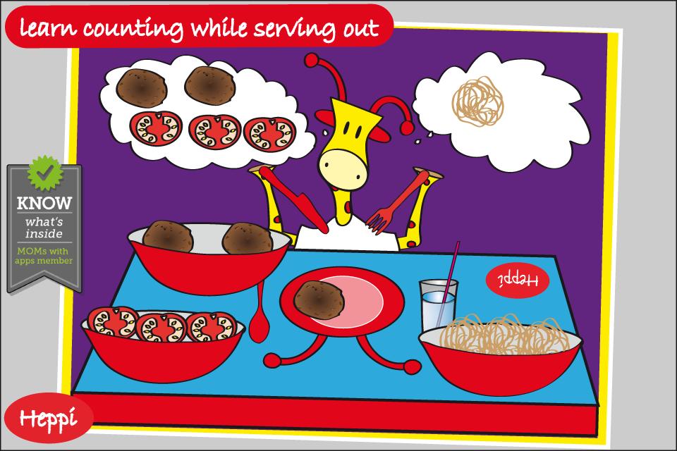 Bo's Dinnertime Story- screenshot