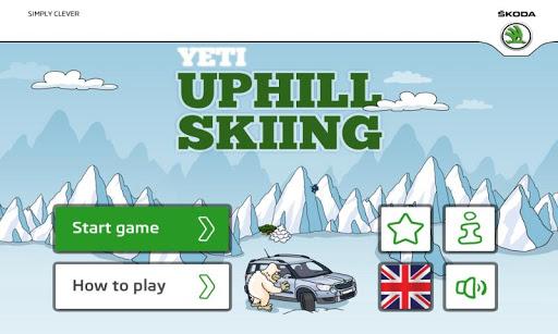 ŠKODA Yeti Uphill Skiing
