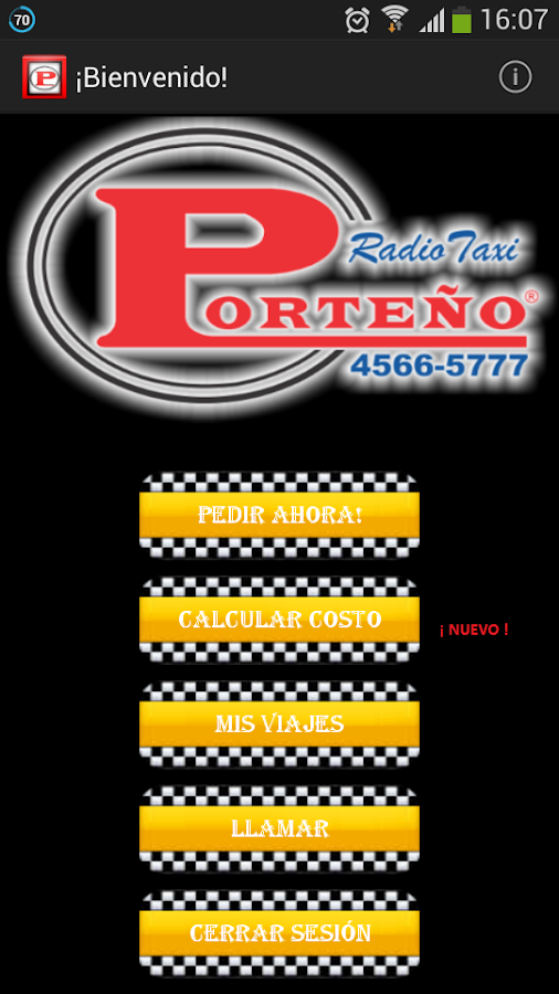 Radio Taxi Porteño- screenshot