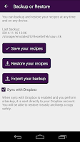 Screenshot of Cookbook Recipes : RecetteTek