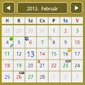 Szolgálati naptár klasszik icon