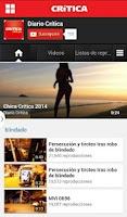 Screenshot of Crítica Panamá