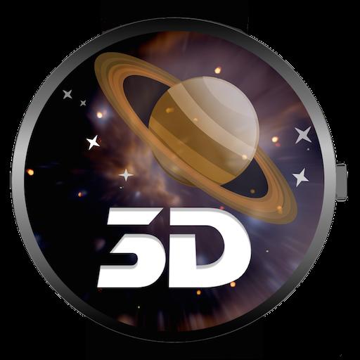 SATURN 3D(手錶遊戲) 街機 LOGO-玩APPs