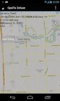 Screenshot of GPS Fix